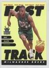 Ray Allen Milwaukee Bucks (Basketball Card) 1997-98 Z-Force Fast Track #1/FT