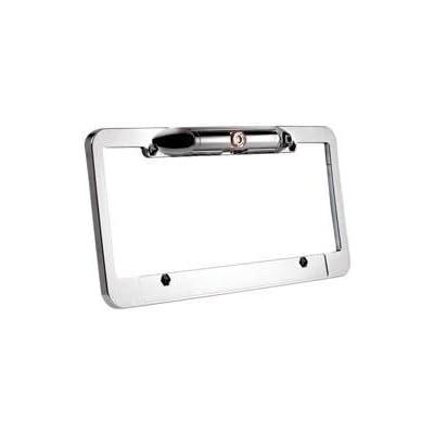 Boyo VTL100 Plastic Wide License Pate Camera (Chrome)