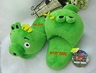 21eHP6ejTHL. SL160  Angry Birds Green Pig King Plush toy slippers