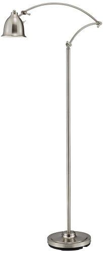 Adesso 5086-22 Graham Floor Lamp, Satin Steel Finish