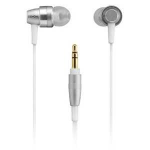 DENON AH-C710 Silver | In-Ear Stereo Headphones (Japan Import)