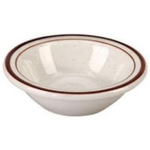 Vertex Crv-11 Caravan Brown Speckled 4.75 Oz. Fruit Bowl - 36 / Cs