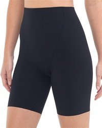 Commando High-Waist Control Short - Black - Large