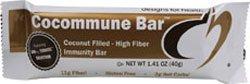 Designs for Health Cocommune Bar Coconut Filled- High Fiber Immunity Bar OU Dairy - 18 Bars