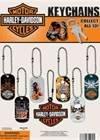 HARLEY Davidson 1 Dog Tag Key Chain (24 count)