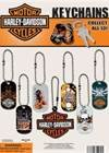 "Harley Davidson 1"" Dog Tag Key Chain (24 Count)"