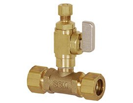 Sioux Chief Add-A-Line No Lead Full-Slip Valve Tee