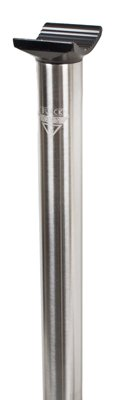 Black Ops Pivto MX-SS Seat Post - 25.4 x 330mm, Stainless Steel