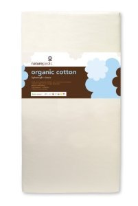 Naturepedic No Compromise Organic Cotton Classic Lightweight Crib Mattress