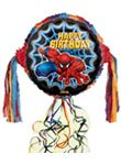 Spiderman Happy Birthday Pull String...
