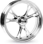 Performance Machine Forged Aluminum Rear Wheel