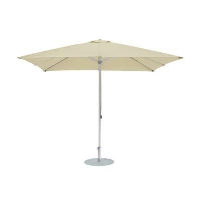 Alu-Sonnenschirm rund naturbeige ø 350 cm / 8 Rippen günstig bestellen