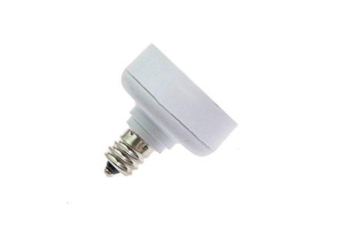 Shangge Ce&Rohs Certification 5 Pcs E12 To Gu24 Led Bulb Base Converter Halogen Cfl Light Lamp Adapter Socket Change Pbt
