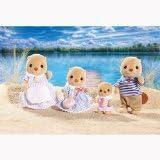Calico Critters Sea Otter Family