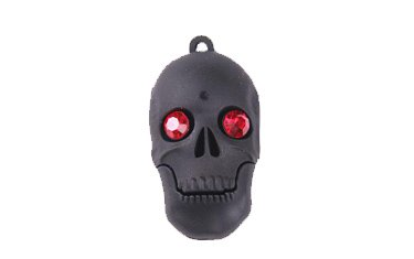 USB Skull 4GB - Memory stick/drive for XP/Vista/Windows 7/Mac (4GB BLACK) from EASYWORLD