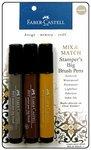 Faber-Castell Mix & Match Stamper's Big Brush Pen Set/3 (Faber Castell Big Brush compare prices)