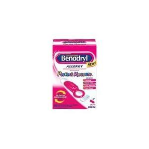 Children's Benadryl Perfect Measure, Pre-Filled Spoons, Cherry 10 ea