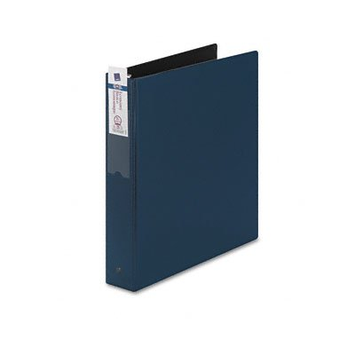 Economy Round Ring Reference Binder, 1-1/2 Cap., Blue - Buy Economy Round Ring Reference Binder, 1-1/2 Cap., Blue - Purchase Economy Round Ring Reference Binder, 1-1/2 Cap., Blue (AVERY, Office Products, Categories, Office & School Supplies, Binders & Binding Systems, Binders, Ring Binders, D-Ring Binders)