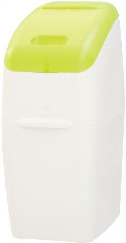 アップリカ 紙おむつ処理ポット におわなくてポイ 消臭タイプ 本体 グリーン 09101 「消臭」・「抗菌」・「防臭」可