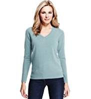 M&S Collection Cashmilon™ V-Neck Jumper