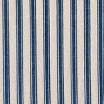 Material - 100% Cotton - Makower UK - MOW745B9 - Basics - Ticking Stripes - Royal Blue