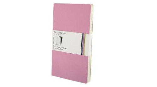 Moleskine Volant Large Ruled Notebook - Pink (5 x 8.25) (Set of 2) (Volant Notebooks)
