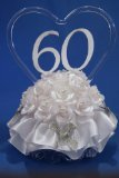 Remembering The Years 60th Wedding Anniversary Cake Topper