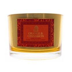 ORANGE & CINNAMON - Shearer Candles - Gold Mirror Multi Wick Jar by Shearer Candles