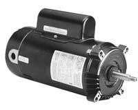 Pool Pumps Motors 1 Hp 3450rpm 56j Frame 115230 Volts