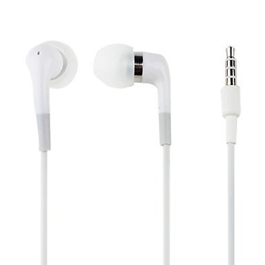 Kanen Superior Bass Accurate Treble In-Ear Earphones With Microphone For Iphone (White)