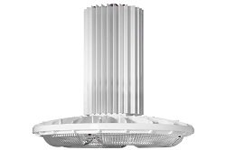 Industrial 250 Watt Led High Bay Light - 24,000 Lumens - Wet Location Lighting - Ip65(-4000K-Wide-34