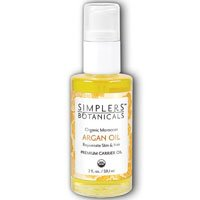Carrier Oil Argan Oil Organic Simplers Botanicals 1 oz Liquid