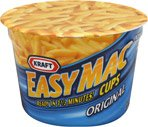 Kraft Easy Mac Microwavable Macaroni & Cheese Dinner Cups, 2.1 OZ (12 Pack)