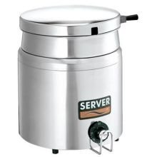 Server Single Well Food Warmer Server, 1000 Watt -- 1 each.