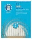 14x25x1 True Blue Basic Pleated Air Filter (MERV 7) (6 Pack)