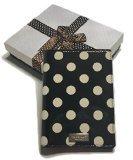 Kate Spade Carslisle Street Polka Dot Passport Holder Case WLRU2110 with Gift Box