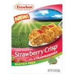 Erewhon Brown Rice and Corn Cereal Gluten Free Strawberry Crisp Strawberry -- 10 oz