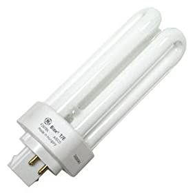 GE 97617 - F26TBX/841/A/ECO - 26 Watt Triple-Tube Compact Fluorescent Light Bulb, 4100K