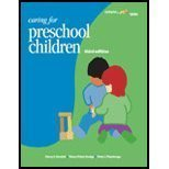 Caring For Preschool Children