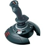 New T Flight Stick X Joystick Ps3 Pc 12 Buttons 4 Axes Flawless Control Plane Rudder by Thrustmaster