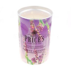 Prices Scented Candle Lantern Garden Lavender Pfl001013