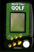 World Class Golf Handheld Electronic Game