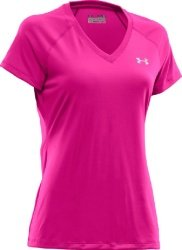 Under Armour Women's Short Sleeve V-Neck Tops from Under Armour