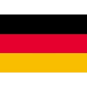 ドイツ 国旗 フラッグ 4号 サイズ 150×90cm
