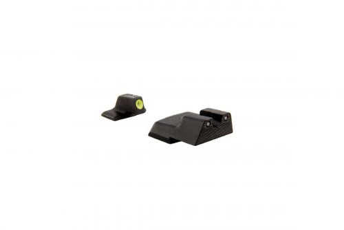 H And K Trijicon P30/45C Hd Front Outline Night Sight Set, Yellow