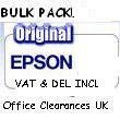 1BULK PACKED - Original Epson T0 807 full set -full set T0 801/2/3/4/5/6 Claria multipack ink cartridge - loose packed 2 x 3 in each pack