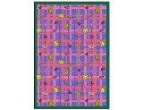 "Joy Carpets Playful Patterns Children's My Little Princess Area Rug, Blue, 5'4"" x 7'8"""