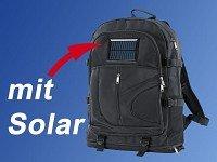 X-Case Solar Rucksack mit Ladefunktion für Mobiltelefon