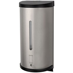 Electronic Touchless Bulk Cartridge Soap Dispenser - Stainless Steel