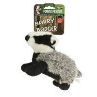 Animal Instincts » Barry Badger Plush Dog Toy » Large
